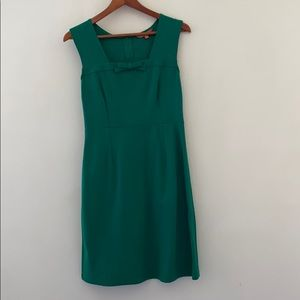 Retro Green Sheath Dress
